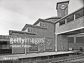 Park Royal London Underground Station designed by architects Welch Lander circa 1936