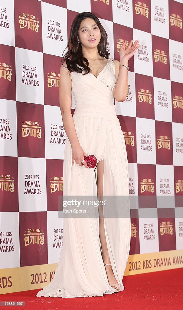 Park Sae-Young attends the 2012 KBS Drama Awards at KBS Hall on December 31, 2012 in Seoul, South Korea.