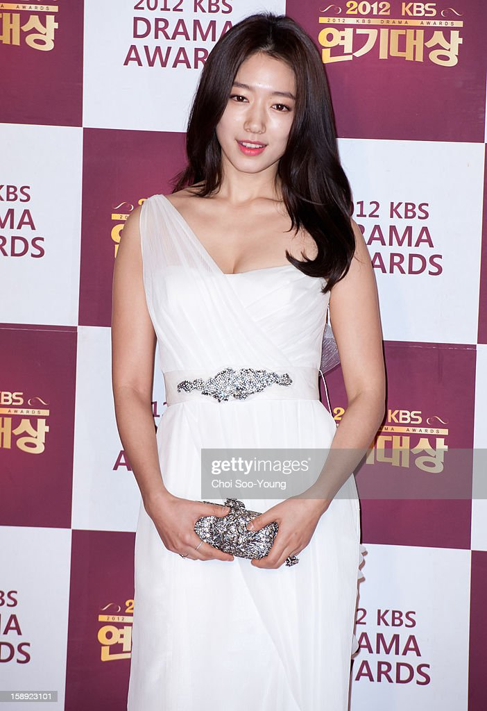 Park Shin-Hye attends the 2012 KBS Drama Awards at KBS Hall on December 31, 2012 in Seoul, South Korea.