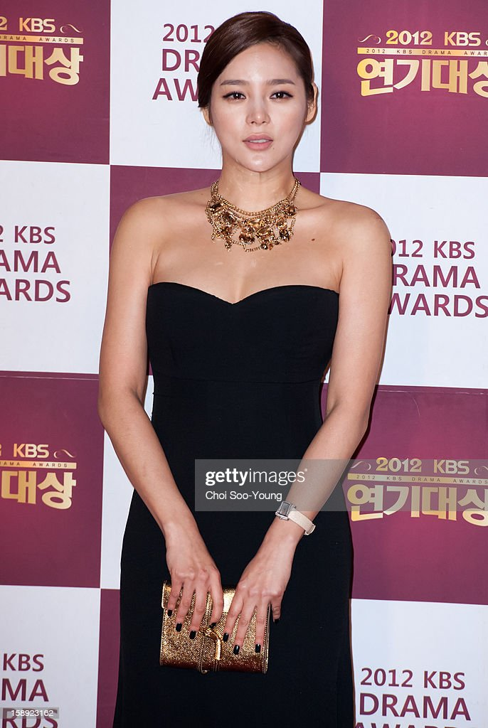 <a gi-track='captionPersonalityLinkClicked' href=/galleries/search?phrase=Park+Si-Yeon&family=editorial&specificpeople=4262454 ng-click='$event.stopPropagation()'>Park Si-Yeon</a> attends the 2012 KBS Drama Awards at KBS Hall on December 31, 2012 in Seoul, South Korea.