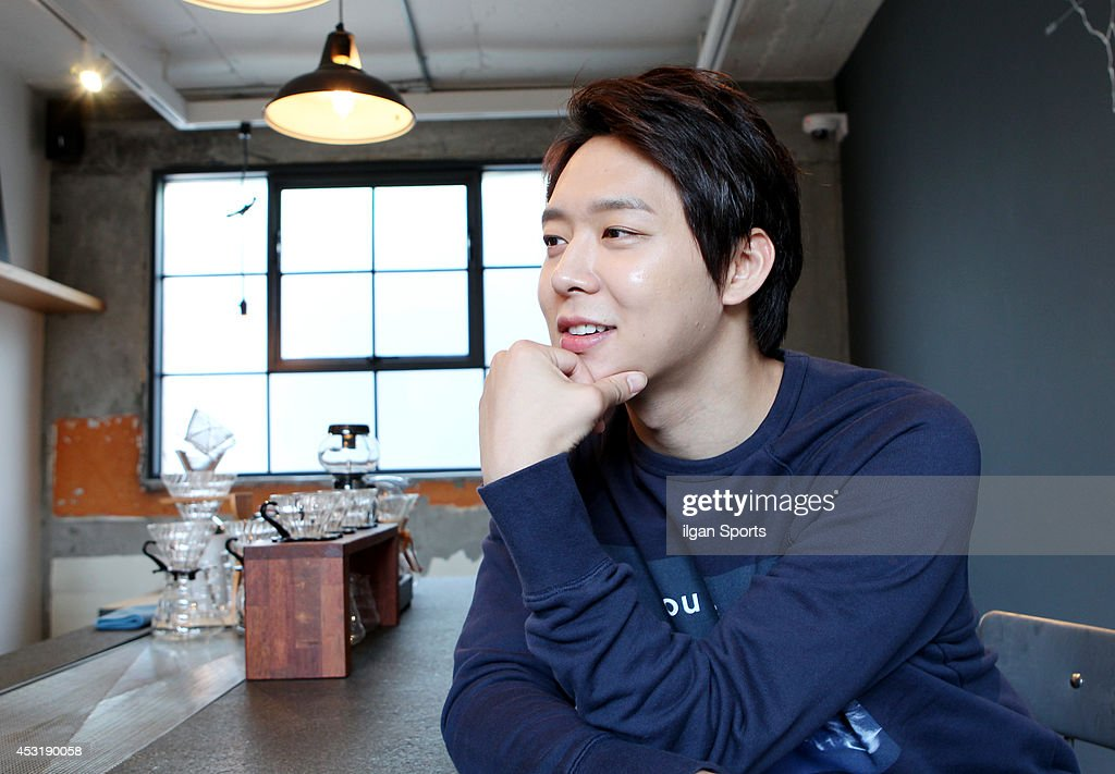 <a gi-track='captionPersonalityLinkClicked' href=/galleries/search?phrase=Park+Yoo-Chun&family=editorial&specificpeople=7444749 ng-click='$event.stopPropagation()'>Park Yoo-Chun</a> of <a gi-track='captionPersonalityLinkClicked' href=/galleries/search?phrase=JYJ&family=editorial&specificpeople=3039772 ng-click='$event.stopPropagation()'>JYJ</a> poses for photographs on July 30, 2014 in Seoul, South Korea.