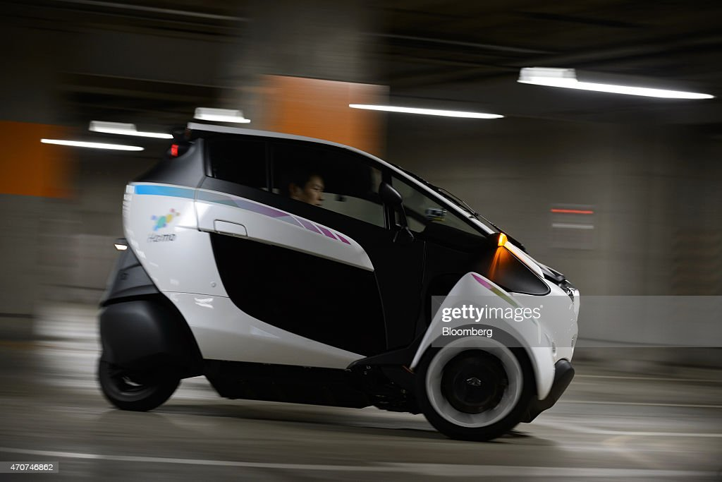 Toyota Motor Corp I Road Electric Vehicles Demostration