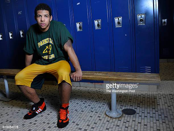 FEBRUARY 22 2016 Parkdale high school wrestler Nate Forschner who has narcolepsy and one of the top wrestlers in Prince George's County on February...