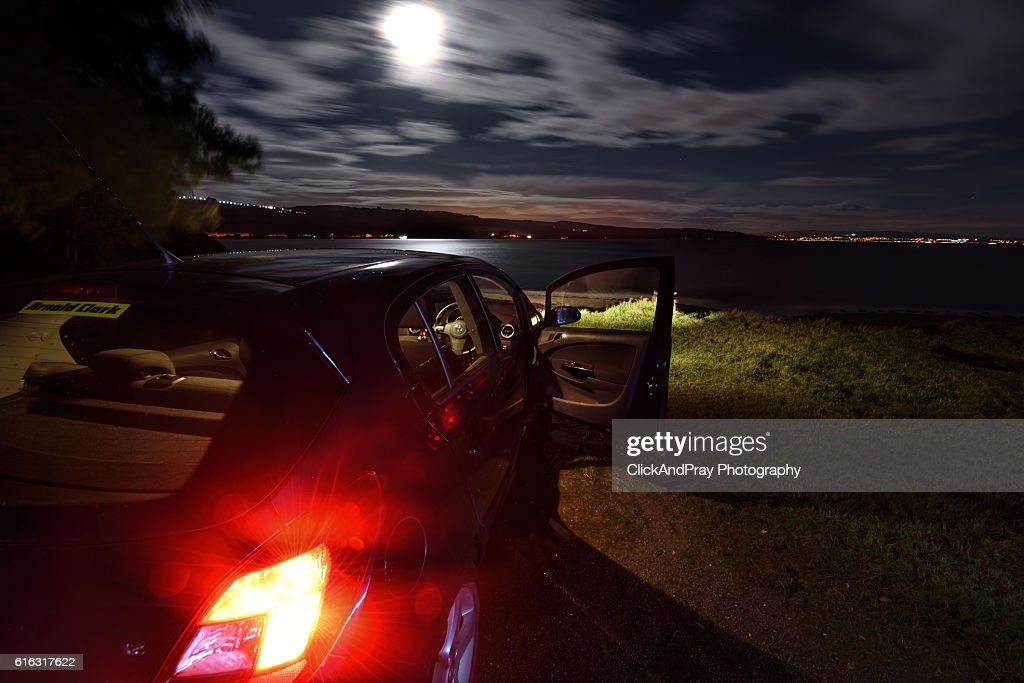 Parked In Seclusion : Stock Photo
