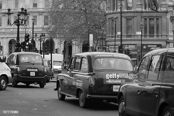 Garé des taxis londoniens