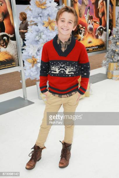 Parker Bates attends the premiere of Columbia Pictures' 'The Star' at Regency Village Theatre on November 12 2017 in Westwood California