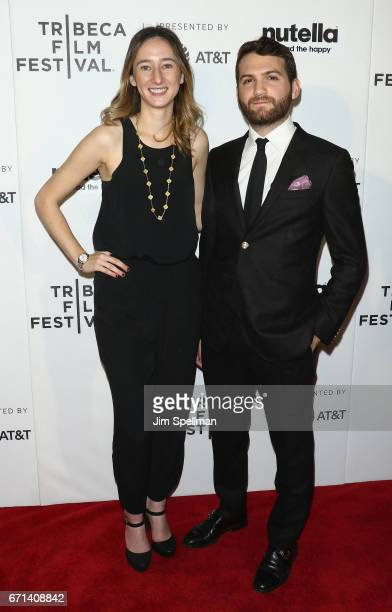 Parker Hill and director Evan Ari Kelman attends the Shorts Program New York Group Therapy during the 2017 Tribeca Film Festival at Regal Battery...