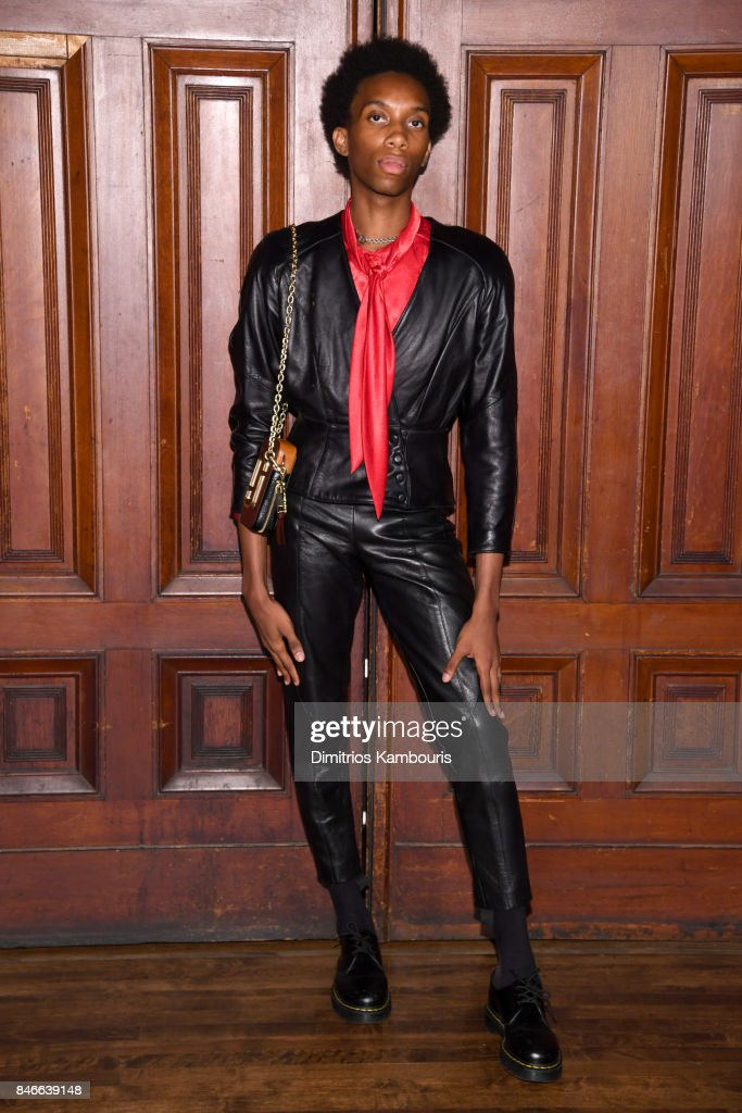 Parker Kit Hill attends Marc Jacobs SS18 fashion show during New York Fashion Week at Park Avenue Armory on September 13, 2017 in New York City.