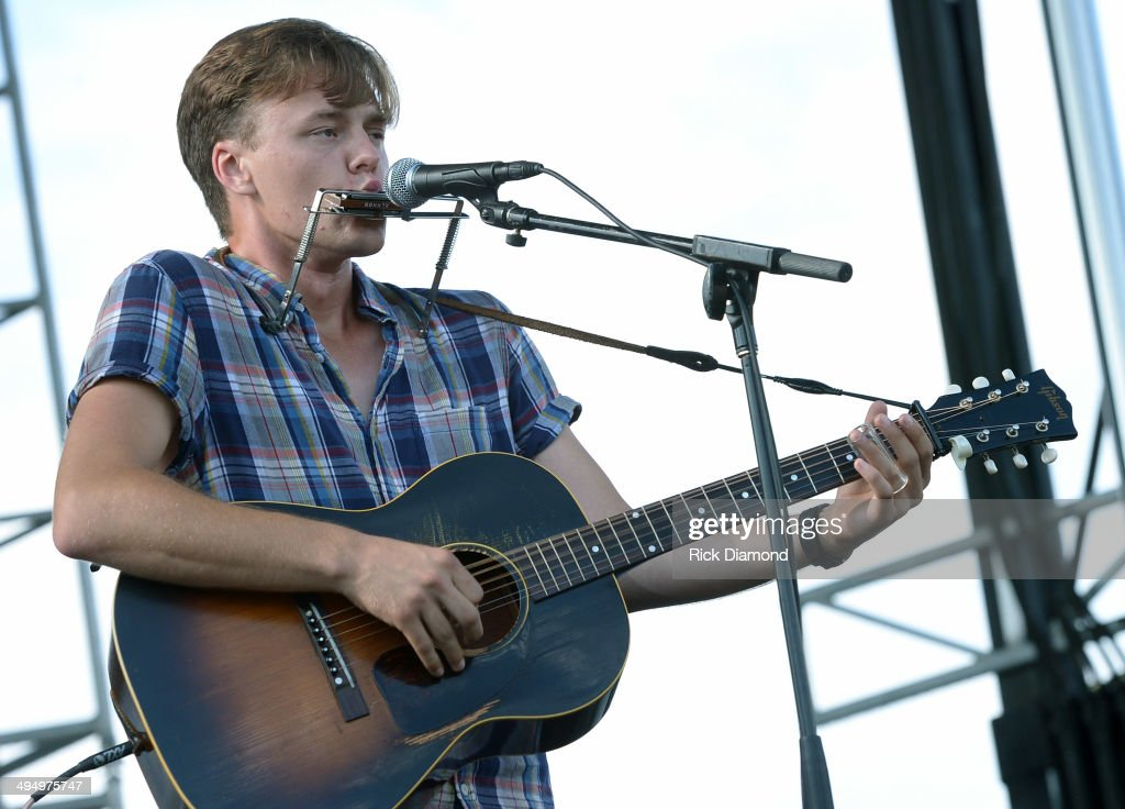 Parker Millsap performs during Americana's Cross County Lines at The Park at Harlinsdale Farm on May 31, 2014 in Franklin, Tennessee.
