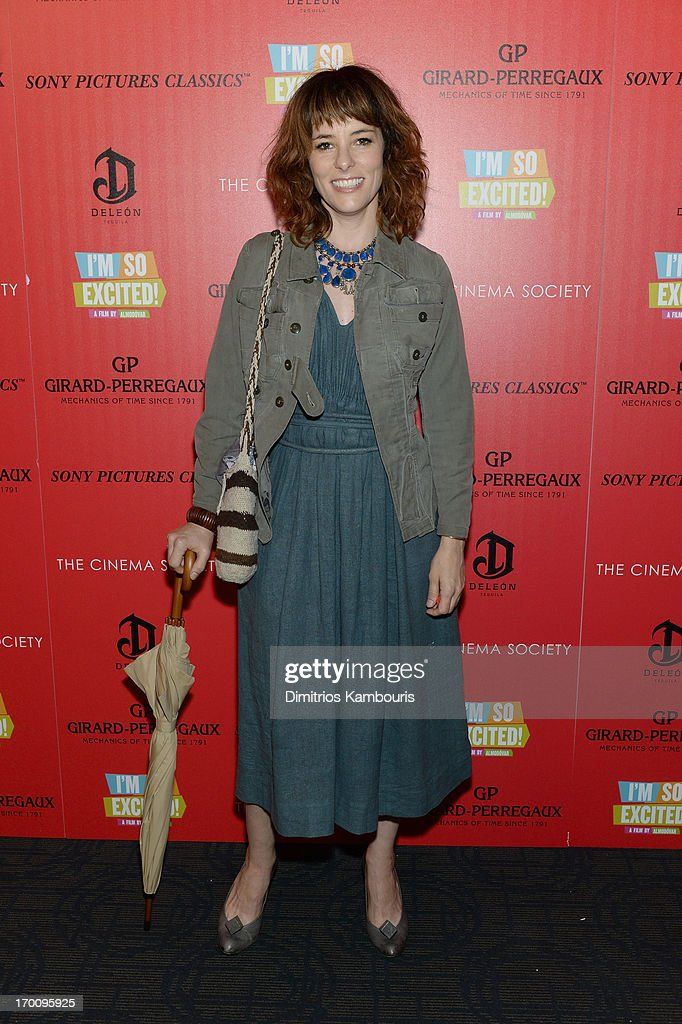 <a gi-track='captionPersonalityLinkClicked' href=/galleries/search?phrase=Parker+Posey&family=editorial&specificpeople=213402 ng-click='$event.stopPropagation()'>Parker Posey</a> attends Girard-Perregaux And The Cinema Society With DeLeon Host a Screening Of Sony Pictures Classics' 'I'm So Excited' at Sunshine Landmark on June 6, 2013 in New York City.