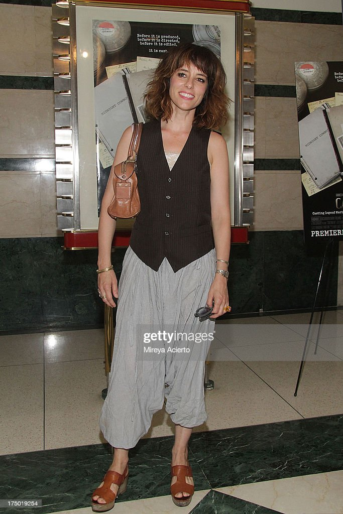 Parker Posey attends the 'Casting By' premiere at HBO Theater on July 29, 2013 in New York City.