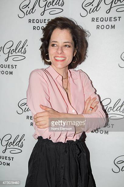Parker Posey attends the Sid Gold's Request Room opening on May 2 2015 in New York City