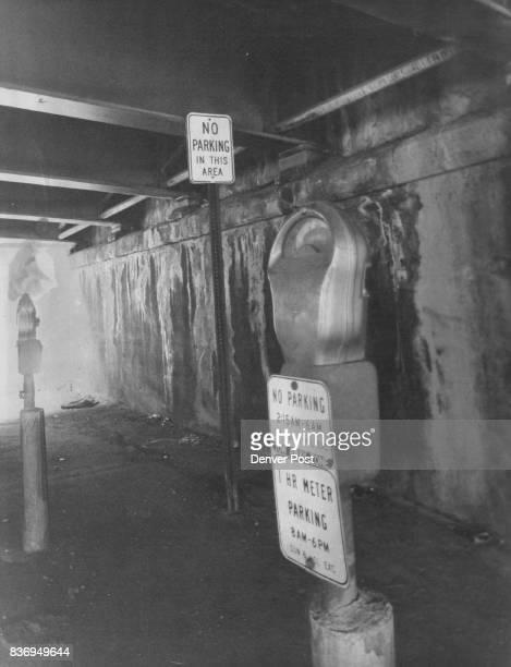 Parking and Parking Lots and Garages Denver 19701979 Beneath the 15th ***** east end Credit Denver Post