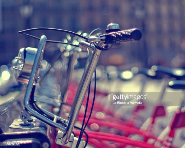 Parking bicycle
