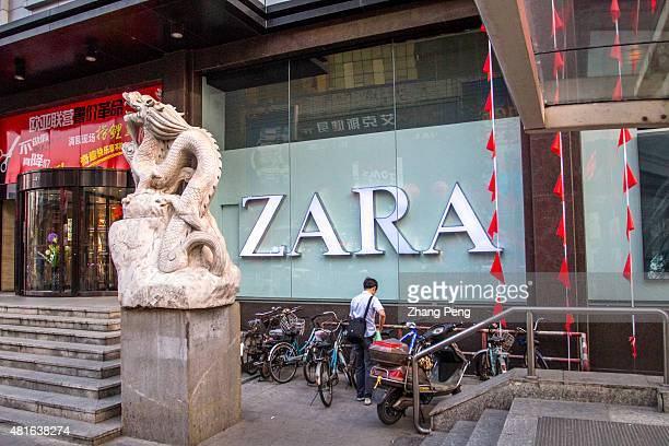 A parking corner for bikes outside a ZARA shop With the economic growth slowing down and the government initiating a crackdown on ostentatious...