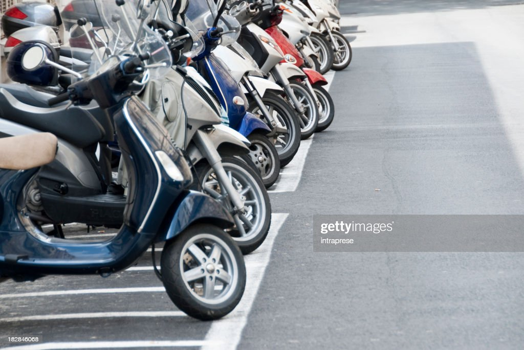 parking for scooters