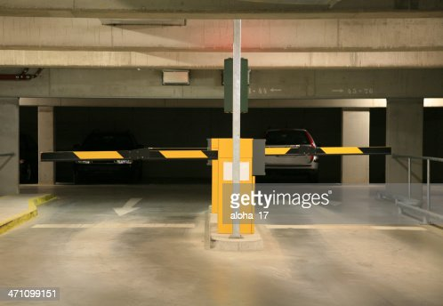 Parking garage entrance