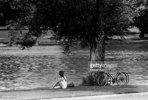 Parking In A Cool Spot Washington park was a good spot to cool off after a bicycle ride for this couple The hot weather is expected to continue at...