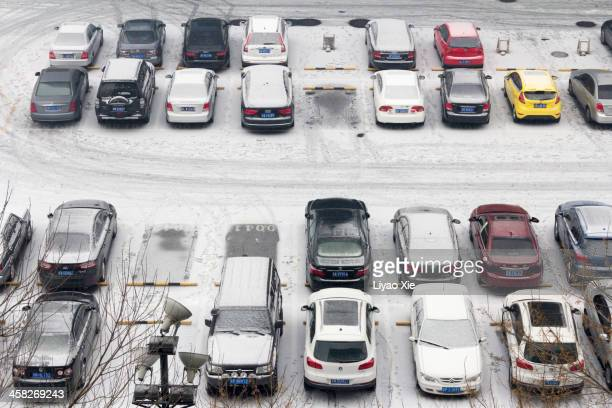 Parking in snowy weather