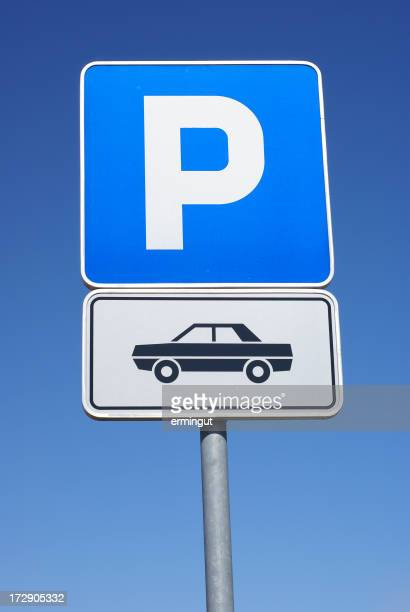 Parking lot for cars