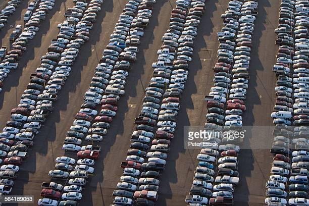 Parking lot, Phoenix, Arizona.