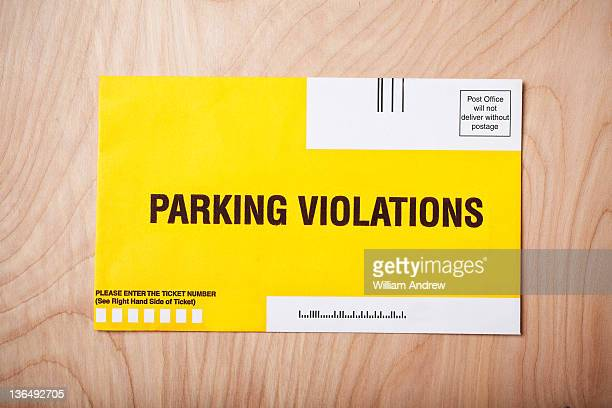 Parking ticket envelope