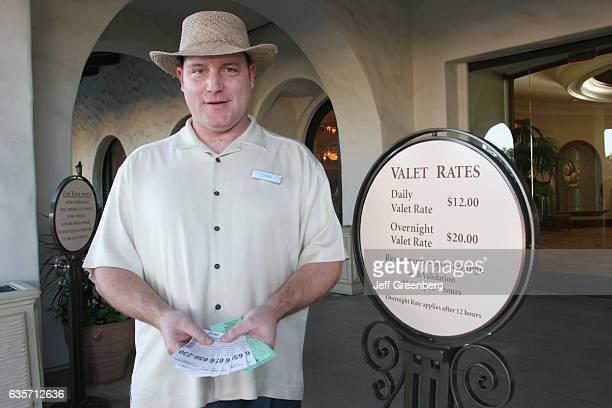 A parking valet at Hyatt Regency Resort and Spa