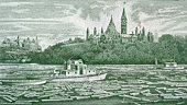 Parliament and Ottawa River