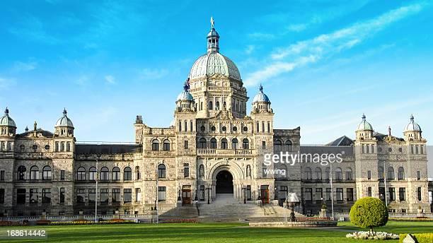 Parliament Building in Victoria, British Columbia