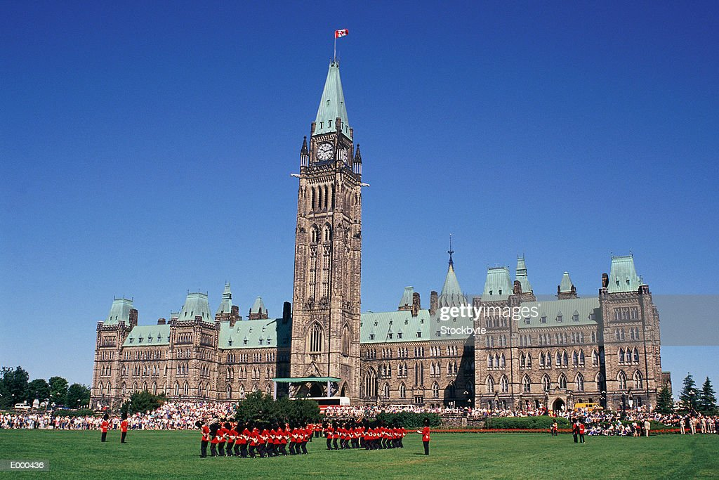 Parliament Building, Ottawa, Canada : Stock Photo