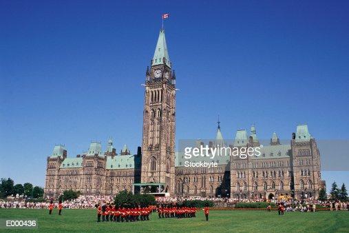 Parliament Building, Ottawa, Canada : Stock Photo