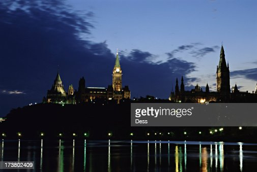 Parliament Hill in the Evening