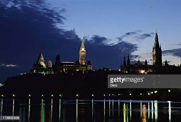 Parliament Hill am Abend