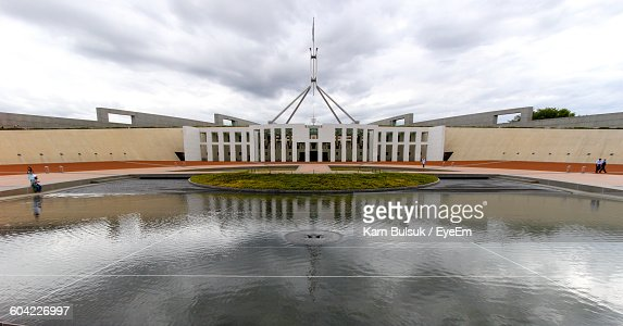 Parliament House Against Sky