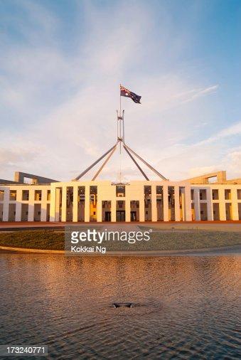 Parliament House at Sunrise