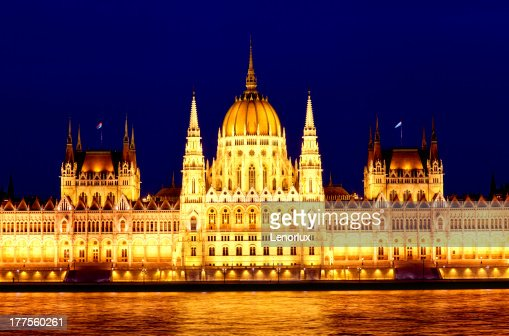 Parliament of Budapest : Stock Photo