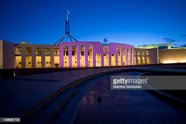 Parliament of the Commonwealth of Australia, Capital Hill.