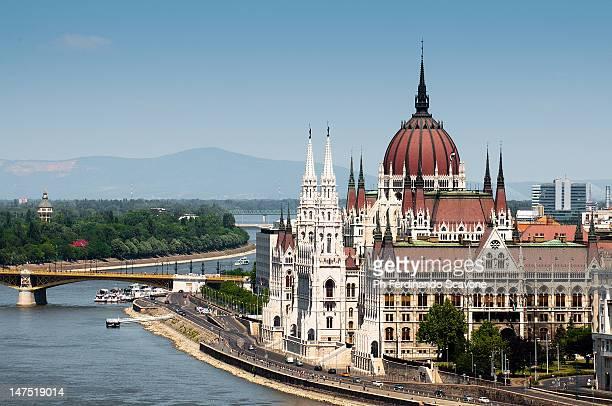 Parliament on Danube river