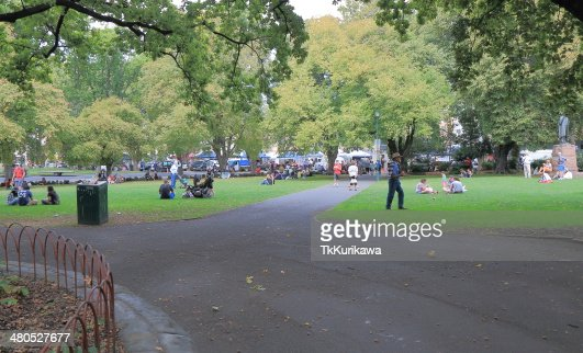 Parliament Square Hobart : Stock Photo