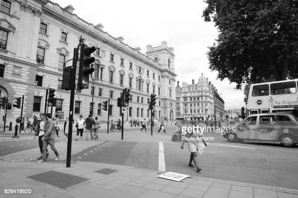 Parliament Street in London,Enlgand