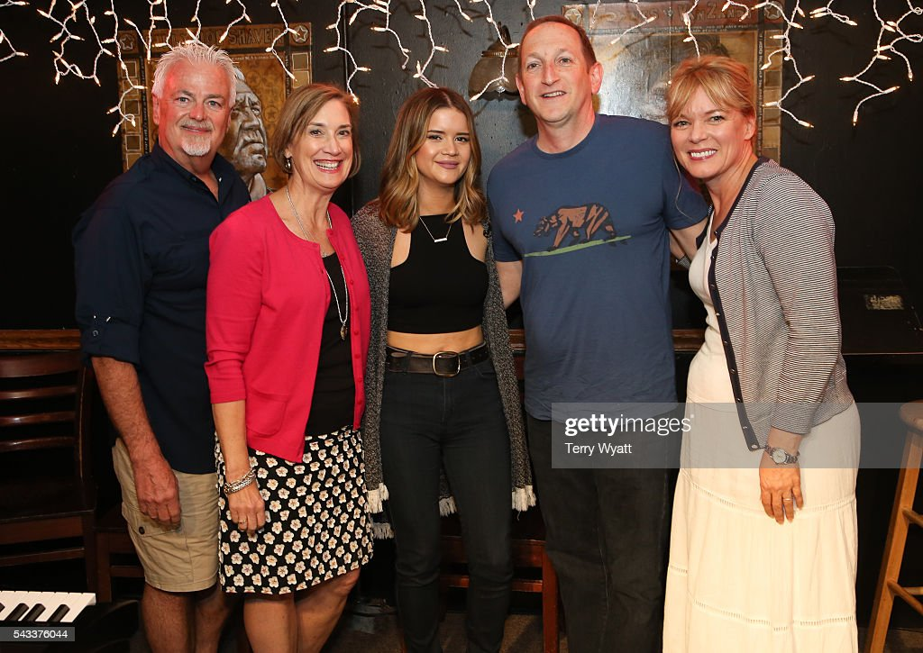 ACM Parliamentarian Paul Moore,Beth Moore,Maren Morris,ACM Lifting Lives President Ed Warm and ACM SVP Teresa George attend the ACM Lifting Lives Music Camp at the Bluebird Cafe on June 27, 2016 in Nashville, Tennessee.