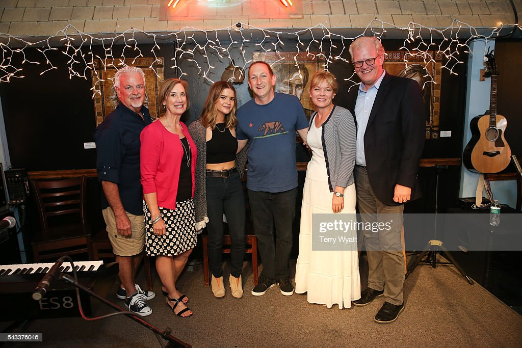 ACM Parliamentarian Paul Moore,Beth Moore,Maren Morris,ACM Lifting Lives President Ed Warm,ACM SVP Teresa George and Stuart Dill attend the ACM Lifting Lives Music Camp at the Bluebird Cafe on June 27, 2016 in Nashville, Tennessee.