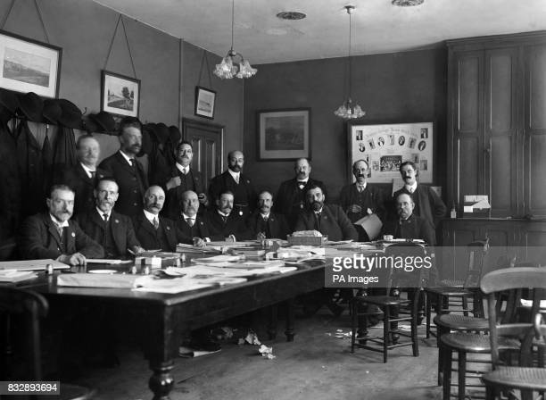 Parliamentary Committee of the Trade Union Congress in Nottingham WJ Davies MP FChandler JP Richard Bell MP BCooper LCC CW Bowerman MP DC Cummings JP...