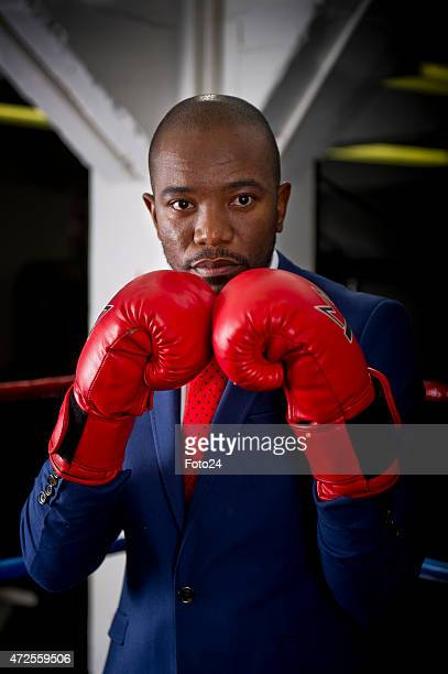 DA Parliamentary leader Mmusi Maimane during an interview on November 20 2014 at the Armoury Boxing Club in Cape Town South Africa Maimane spoke...