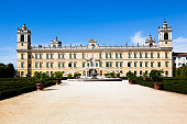 Old holiday palace of the duchess of Parma, Maria Luigia in Colorno near Parma, Italy