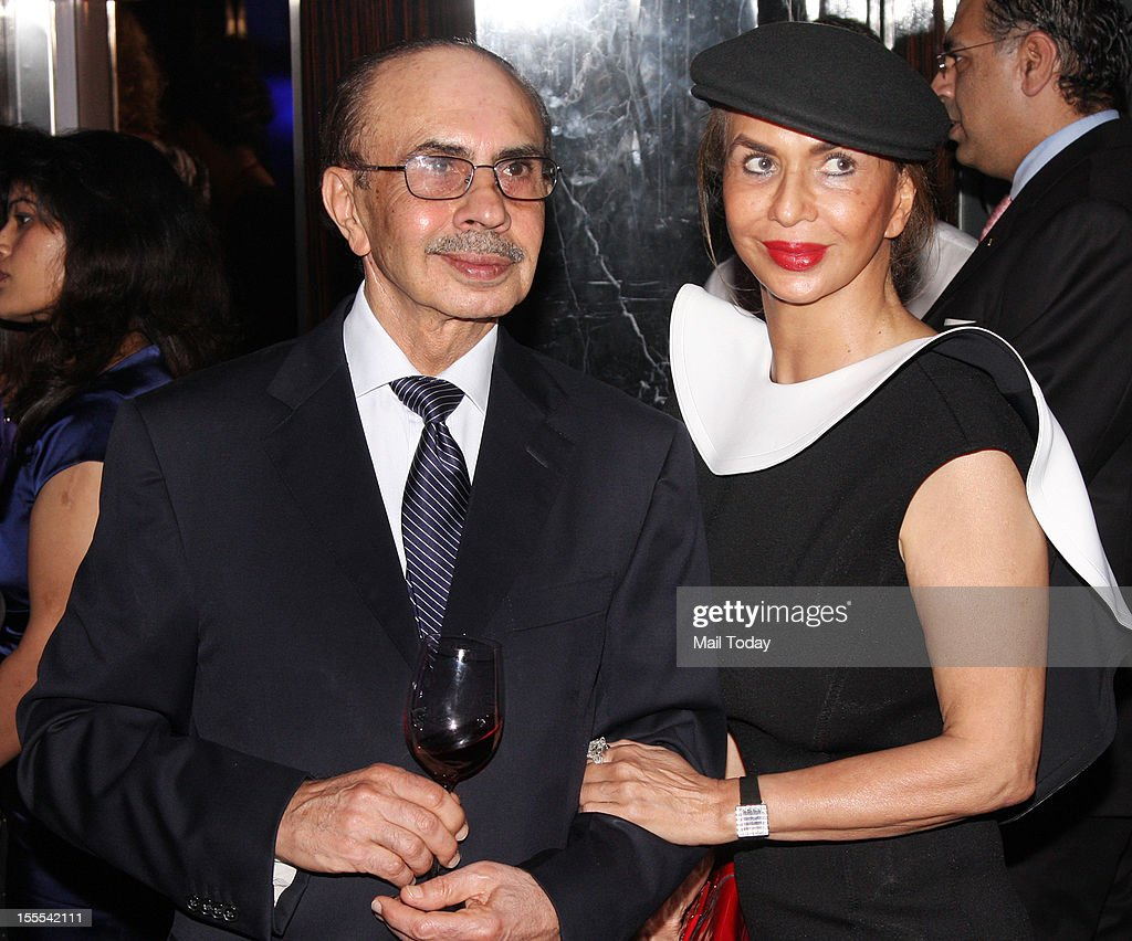 Parmeshwar Godrej and Adi Godrej during a function in Mumbai where Aishwarya Rai Bachchan was conferred with the French civilian award, Officer Dan Ordre Arts et des Lettres on 1st November, 2012.