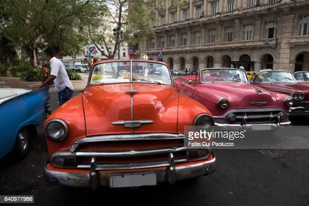 Parque Central of Havana in Cuba