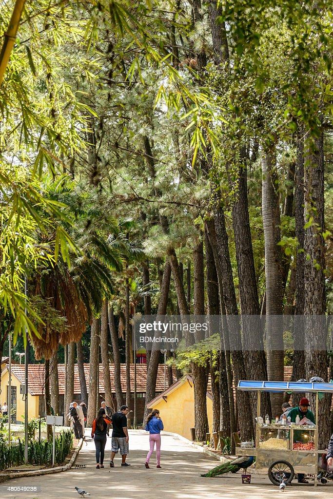 Parque da Agua Blanca (branco Parque Aquático), São Paulo, Brasil : Foto de stock