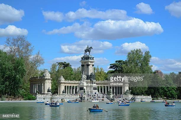 Parque del Retiro en Madrid-Retiro Parque