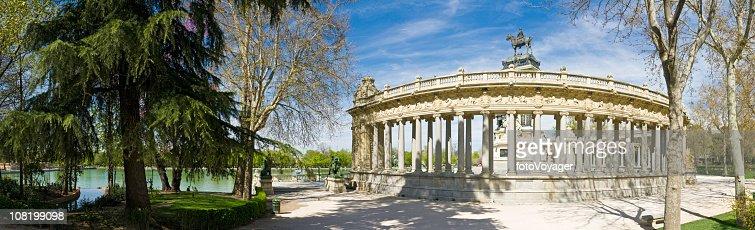 Parque del Retiro Madrid : Stock Photo